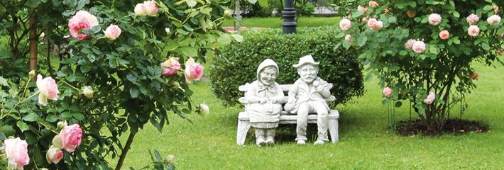 Hotel Ganslhof, Garten
